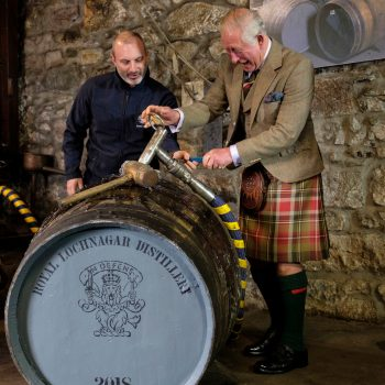 Prince Charles Visits Diageo-owned Scotch Distillery Near Balmoral photo