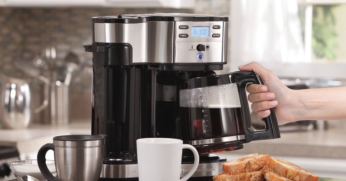 Coffee Makers On Sale: Shop Ninja, Black+decker, And Hamilton Beach At Walmart photo