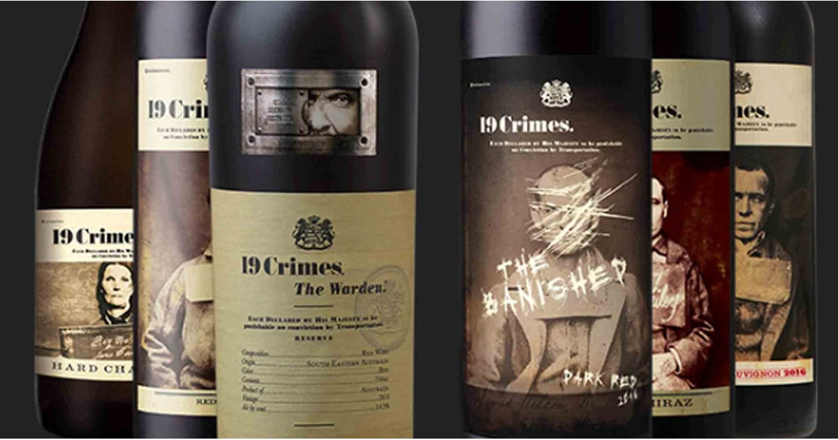 This Wine Gives Details Of Criminals' Pasts On The Bottles, And Yep, It's Perfect For Halloween photo