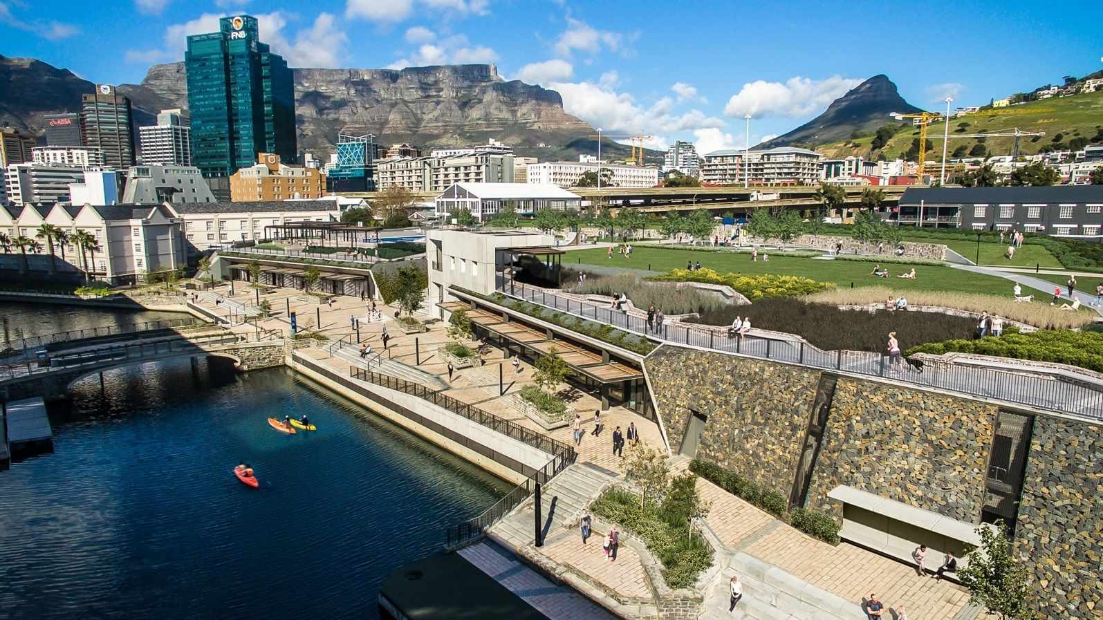 V&a Waterfront To Open Giant, New Urban Park photo