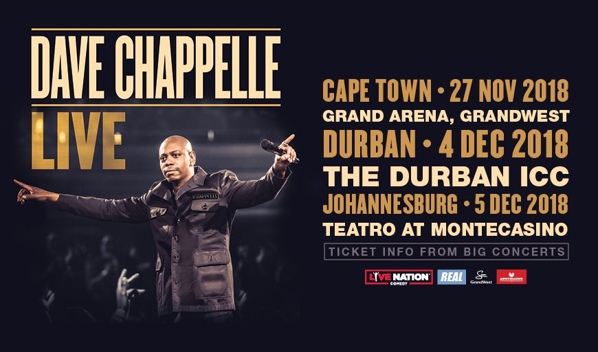 Dave Chappelle To Tour South Africa For The First Time photo