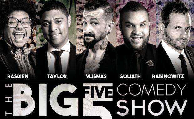 Sa's Comedy Big 5 To Perform At Grandwest photo