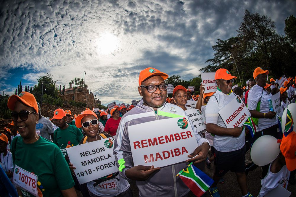Mandela Remembrance Walk And Run: Thousands To End Mandela Centenary Celebrations In Fine Style photo
