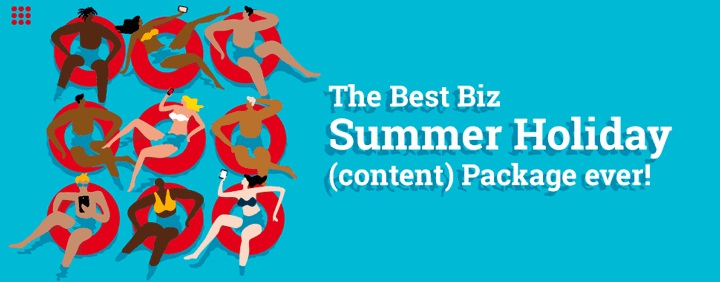 The Best Biz Summer Holiday (content) Package Ever! photo