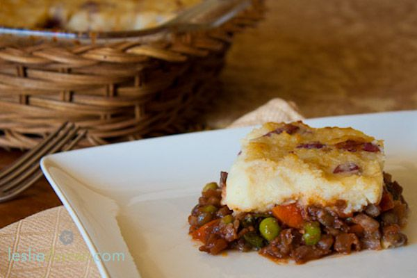 #greenmondaysa: Mushroom Lentil Shepherd's Pie photo