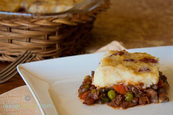 #greenmondaysa: Mushroom Lentil Shepherd's Pie photo