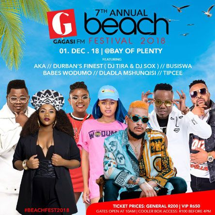 The Gagasi Fm Beach Festival Line-up Announcement photo