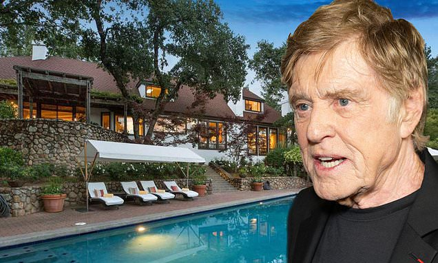 Robert Redford Lists Stunning 10-acre Napa Valley Retreat For $7.5m photo