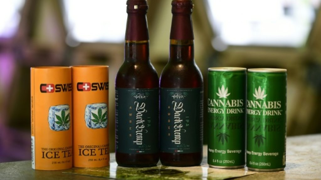 Pot: A New Golden Goose For The Booze Biz? photo