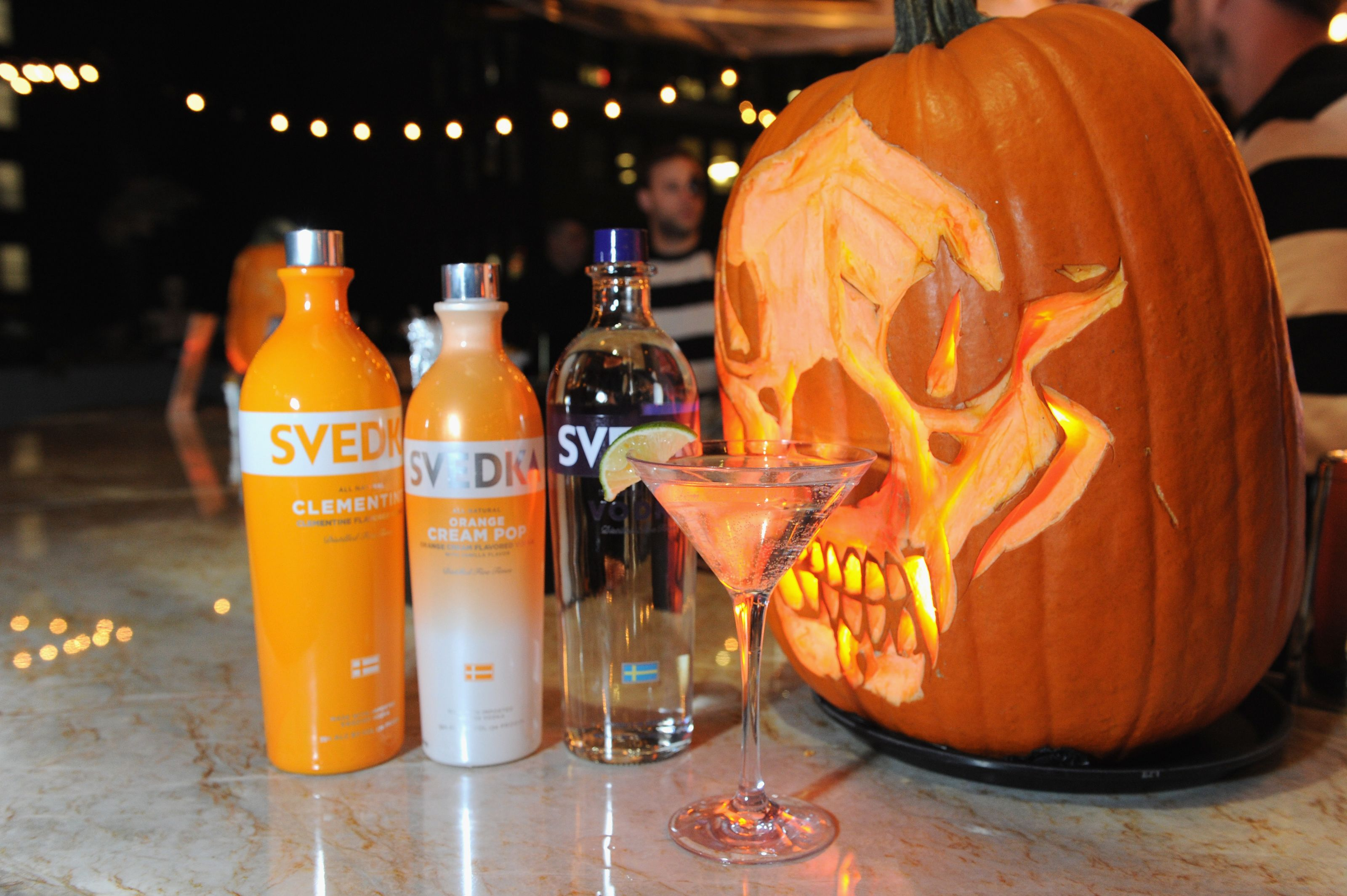 Toast The Witching Hour: Heidi Klum's Halloween Party Cocktails By Svedka photo