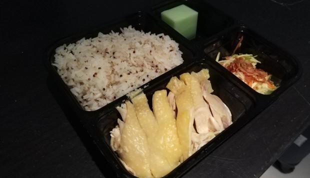 Delicious Hainan Chicken Rice At Thai Princess By Maya Kitchen, Sheung Wan, For Only Us$7.90 photo