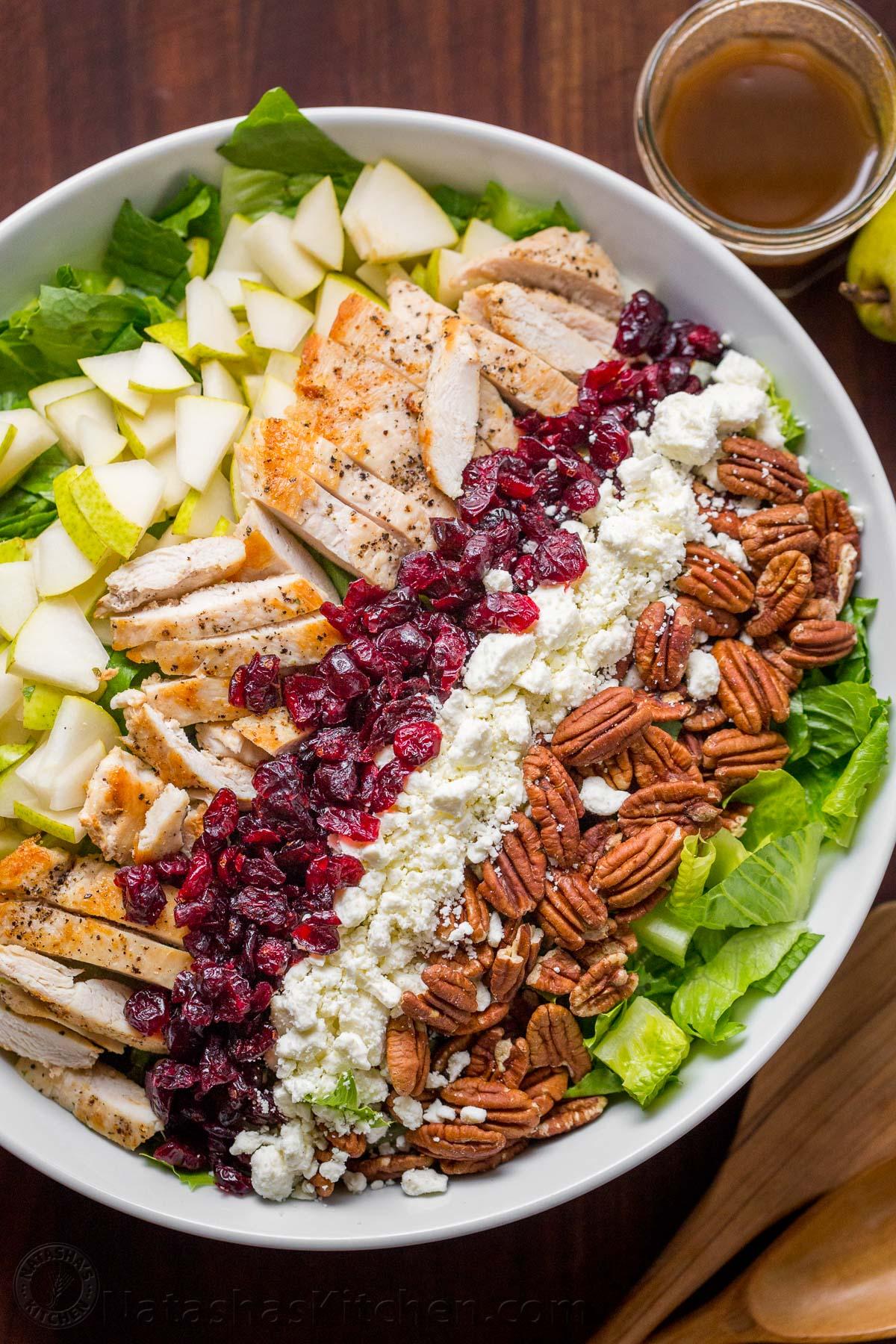 Autumn Chopped Chicken Salad (video) photo