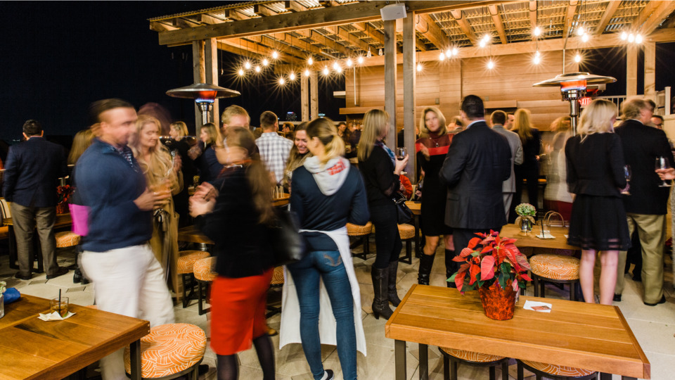 Tampa Rooftop Bar Uses Aperol Spritzes To Debut Extended Hours, Because Duh photo