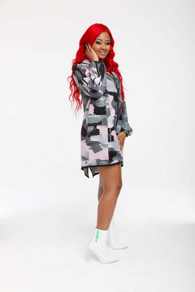 Babes Wodumo On Tropika Smooth Fan Tv Show This Week photo