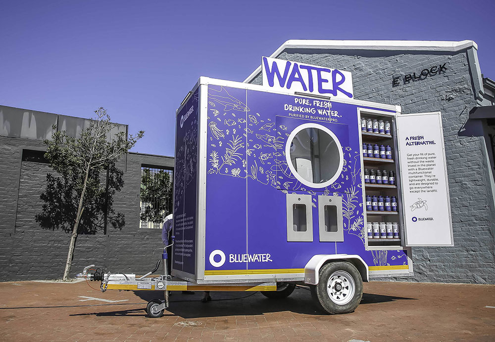 Innovative Event Partnership To Reduce Single-use Plastic: Bluewater And Consol Glass Partner With Kamers/makers Stellenbosch photo