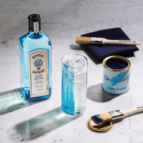 Bombay Sapphire ?revolutionises? G&t With Edible Paint photo