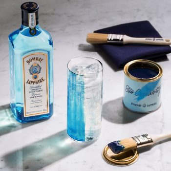 Bombay Sapphire Launches Edible Paint For Gin And Tonic photo