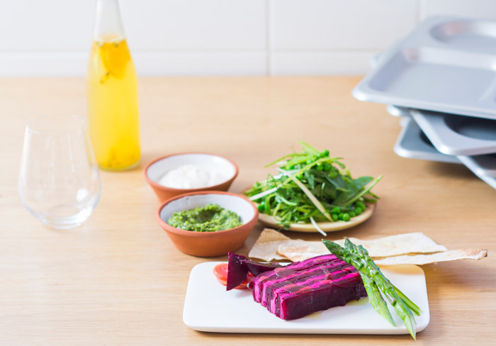 Meat-free Monday: Try This Mouth-watering Beetroot & Chèvre Terrine [recipe] photo