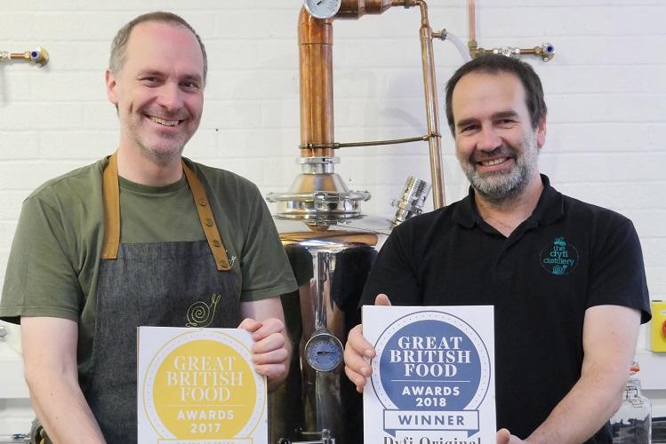 Welsh Micro Distillery Retains Best British Gin Award photo