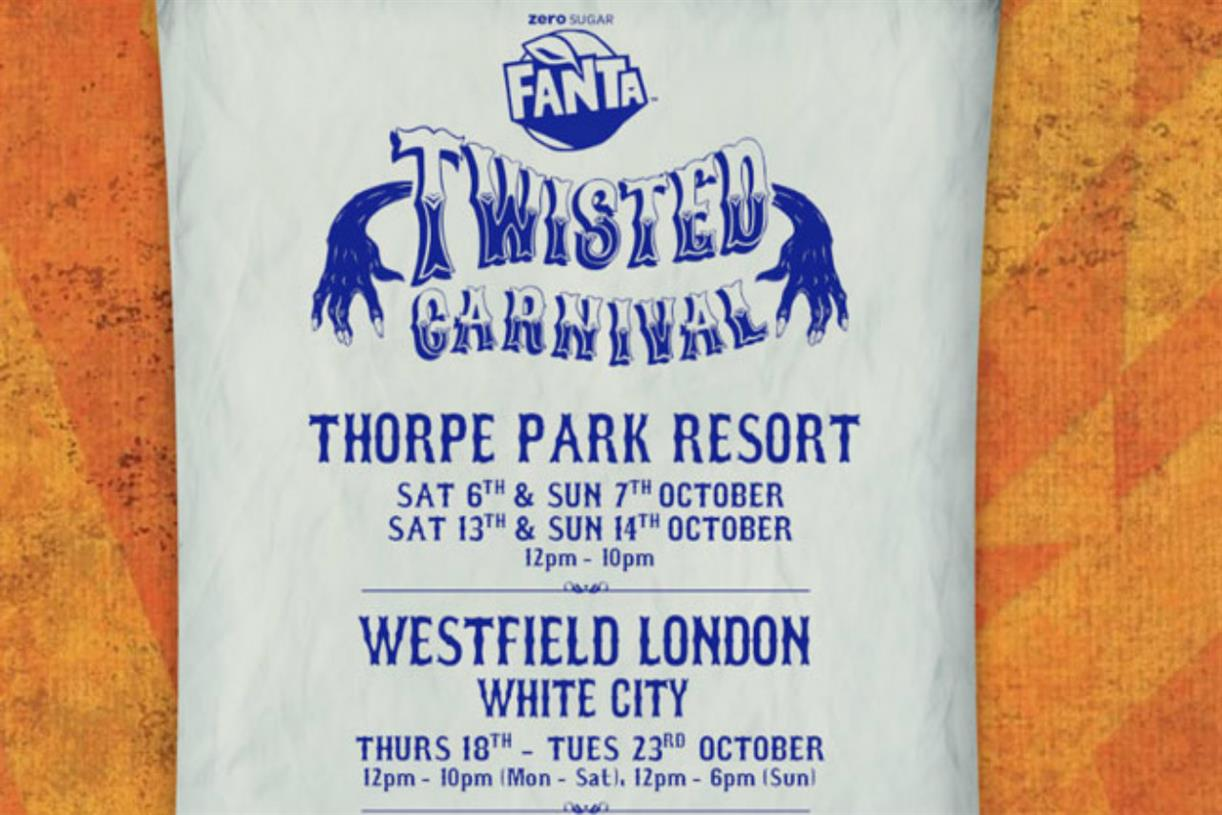 Fanta To Stage Travelling Halloween Fair photo