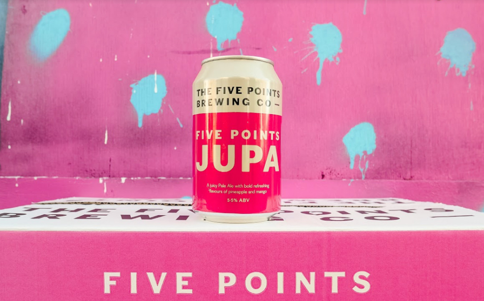 The Five Points Brewing Company Launches 'tropical' Pale Ale Jupa photo