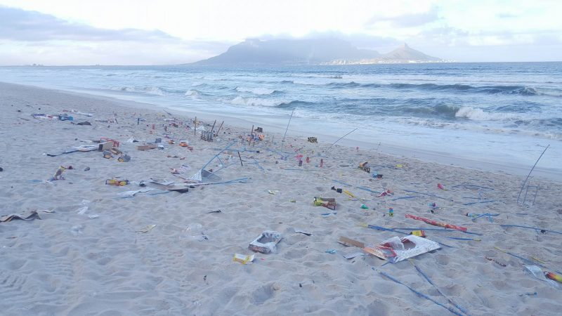 Guy fawkes 3 e1540970821527 the beachhouse joins hands with Clean C to clear our beaches of fireworks
