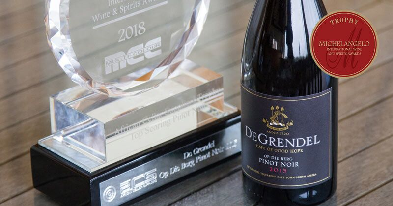 De Grendel Triumphs with a Trophy and Three Double Gold Medals at the Michelangelo Awards 2018 photo