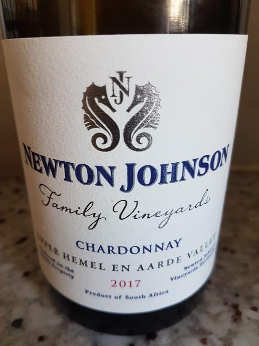 Newton Johnson Family Vineyards Chardonnay 2017 photo