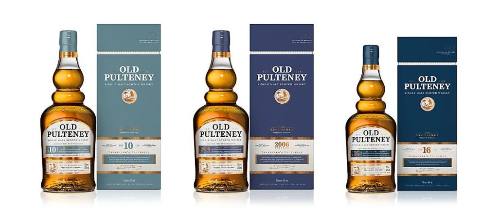 Old Pulteney Unveils Latest Exclusive Collection For Travel Retail photo