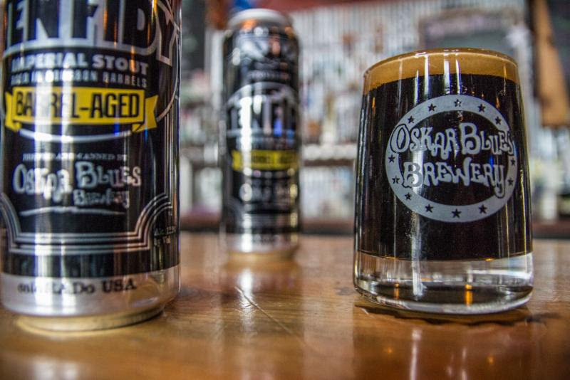 Oskar Blues Barrel-aged Ten Fidy Hits Wide Distribution This November photo