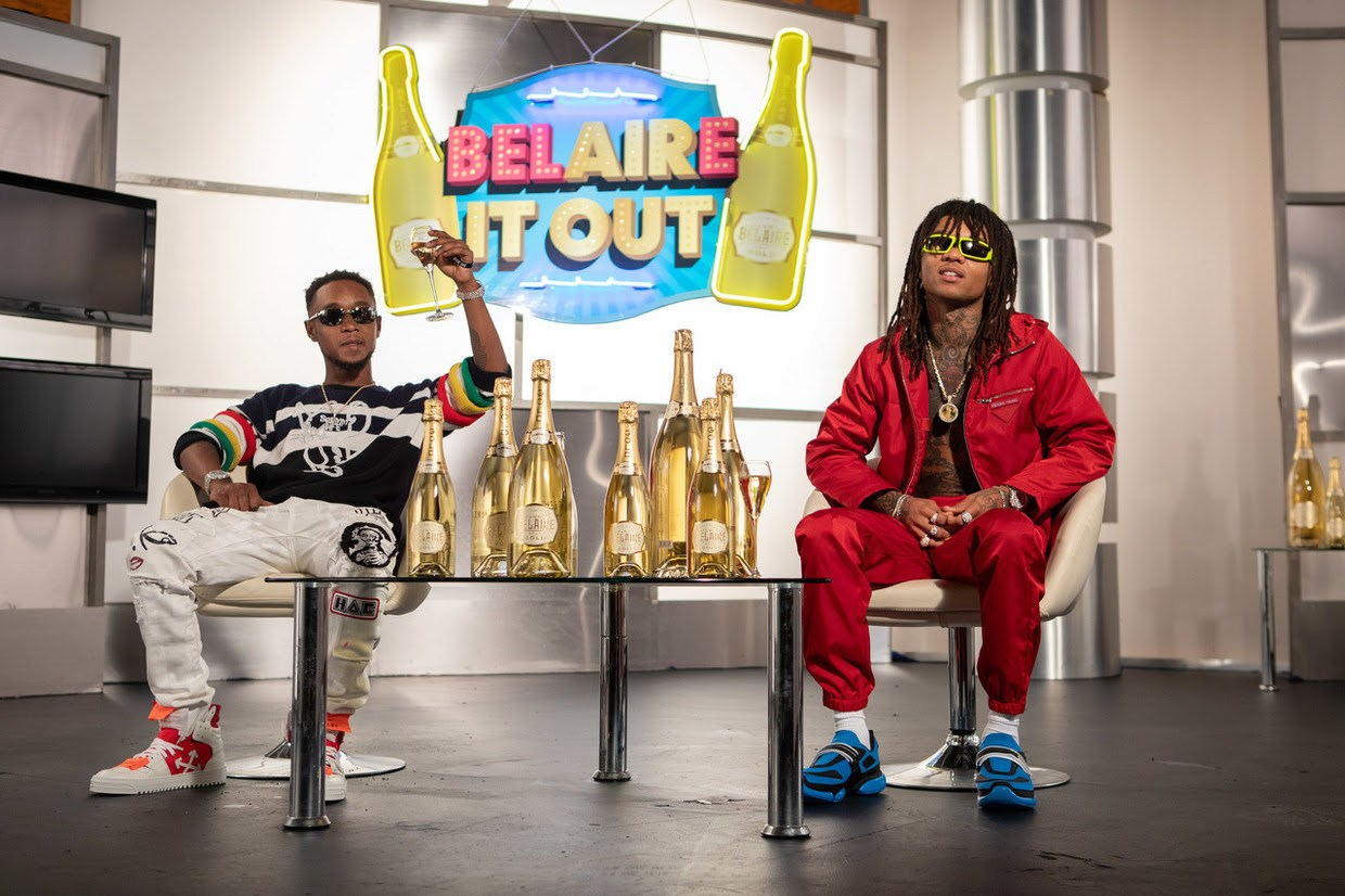 Luc Belaire Teams Up With Rae Sremmurd For A New Global Partnership ? photo