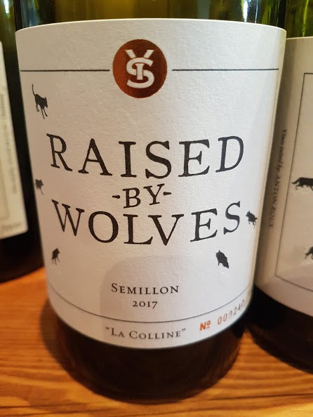 Raised By Wolves La Colline Semillon 2017 photo