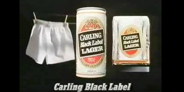 My Favourite Ad Campaign Of All Time: The Carling Black Label Series Of The 1980s photo