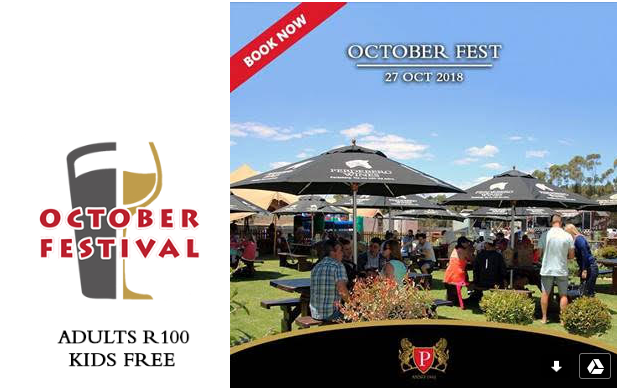 Get your  beer on at the annual October Festival at Perdeberg Winery photo