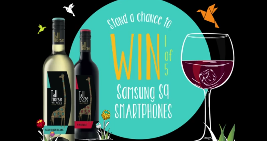 Win 1 of 5 Samsung S9 Smartphones with Tall Horse Wines photo