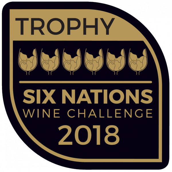 Six Nations Wine Challenge 2018 trophy badge e1539844723127 Nederburg Weisser Riesling Noble Late Harvest Wins Six Nations Wine Challenge Trophy