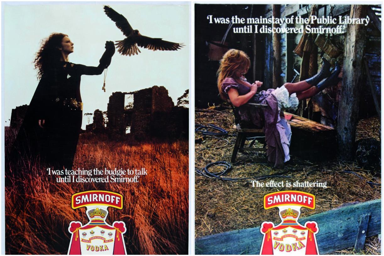 Best Ads In 50 Years: Smirnoff Made Vodka Cool photo