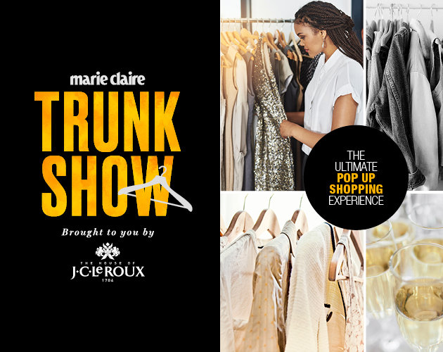 Win Tickets To The 2018 Marie Claire Trunk Show For You And Five Friends photo