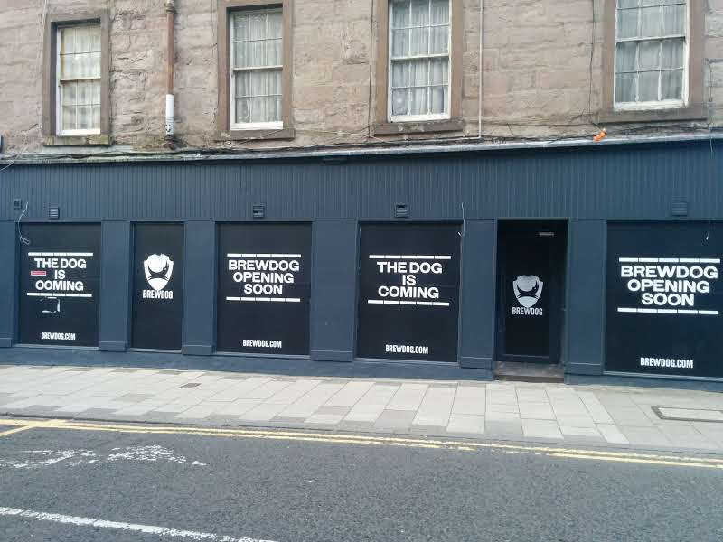 Opening Time Nears At Brewdog's Newest Tayside Bar photo