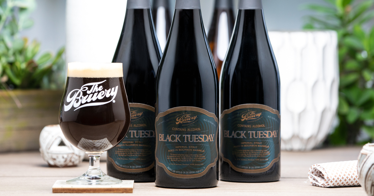 Preliminary Details On The Bruery Black Tuesday 2018 Public Sale photo