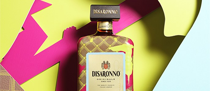 Italian Taste, Italian Style: Trussardi Dresses Disaronno With Limited Edition Bottle photo