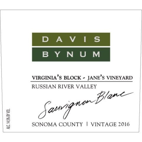 Davis Bynum ?virginia?s Block? Sauvignon Blanc photo