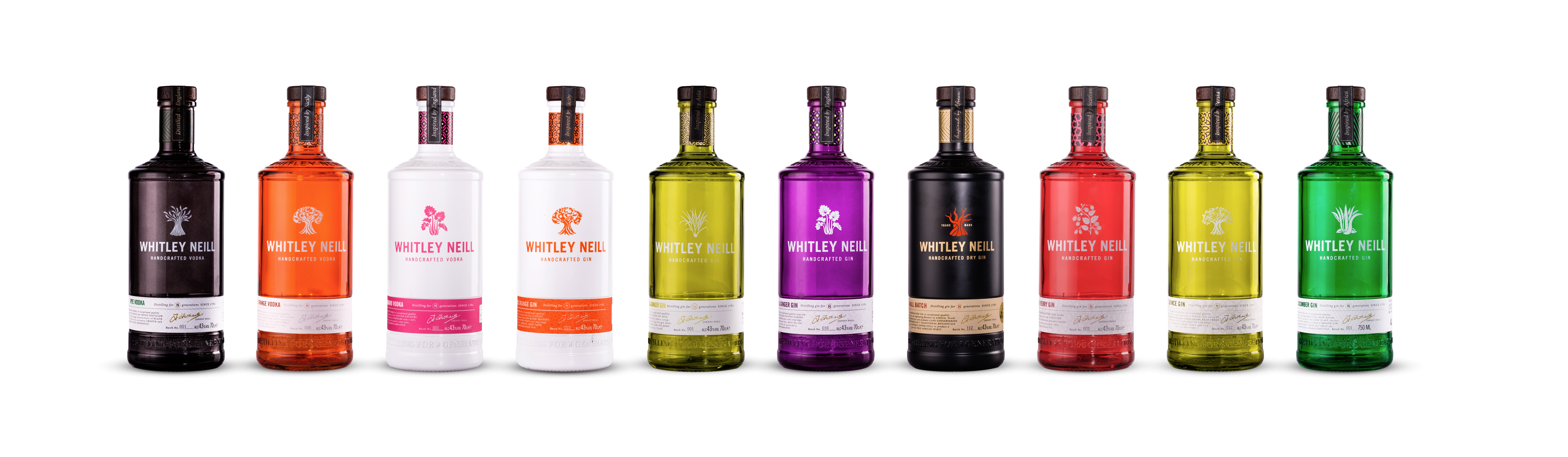 Halewood Adds To Portfolio With New Whitley Neill Flavoured Gins And Dead Man?s Fingers Rum photo
