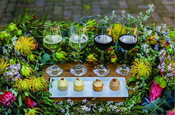 Delheim Celebrates The Taste Of Sa With New Wine & Fynbos Cupcake Pairing photo