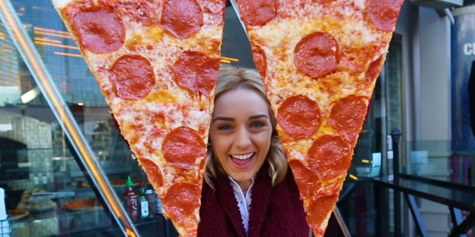 You Will Find The Biggest Slice Of Pizza On The Vegas Strip photo