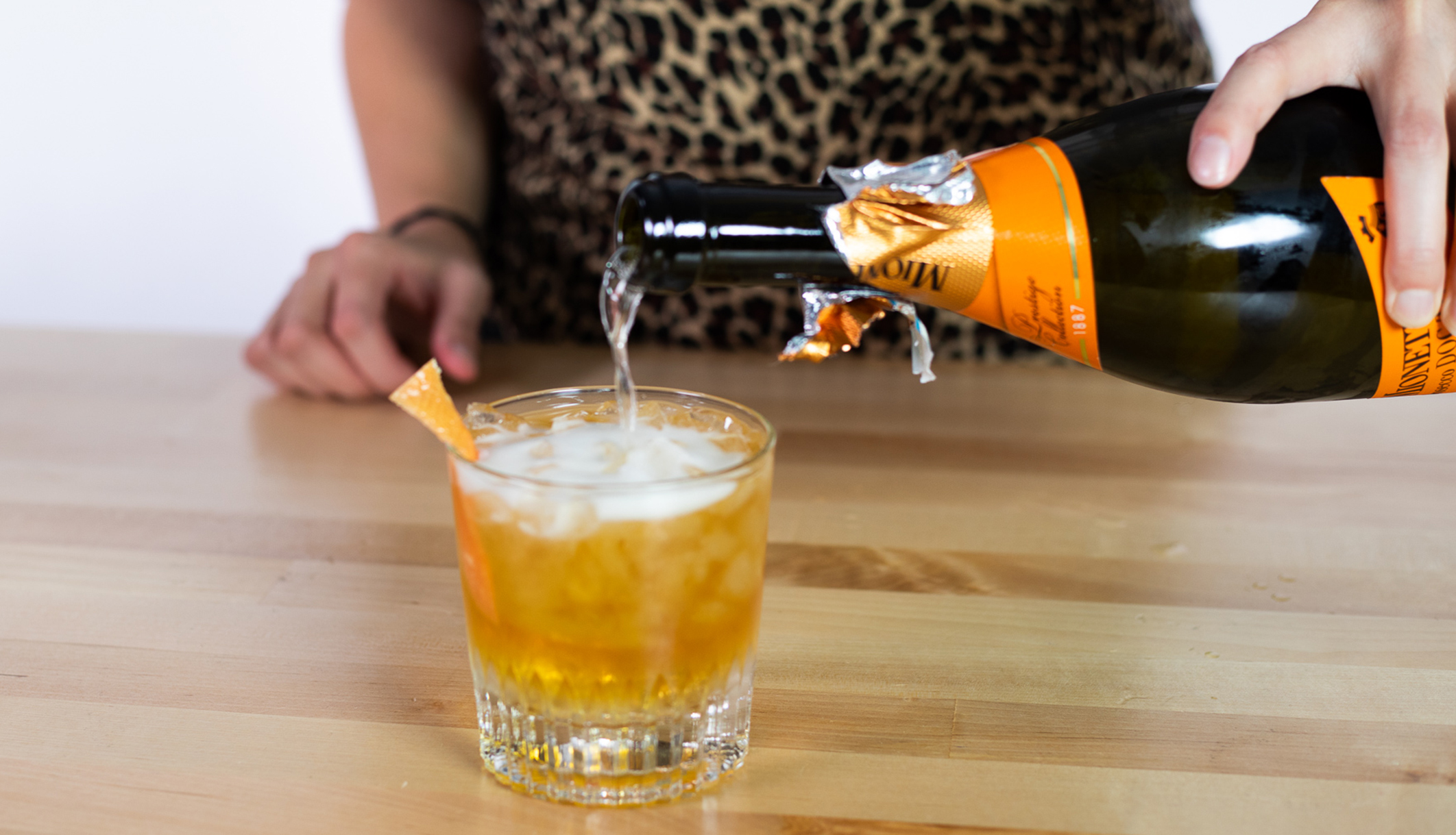 Martinis & Murder Cocktail Recipe: Bitter Bourbon Spritz photo