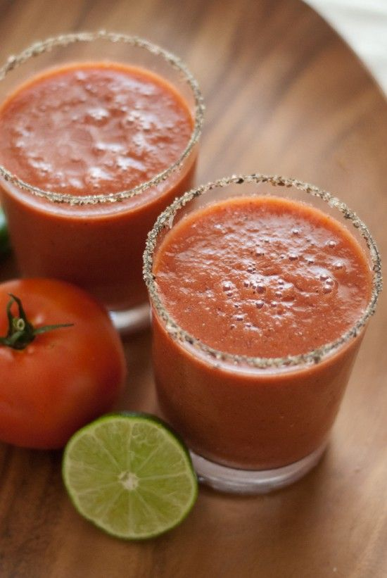 Spicy Frozen Bloody Marys For Hot Summer Days photo