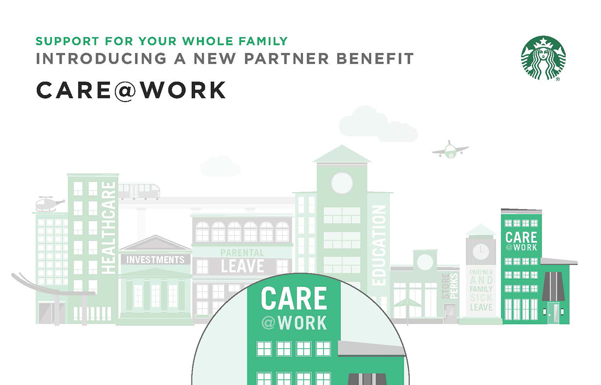 Starbucks Announces Care@work, A Subsidized Backup Care Program photo