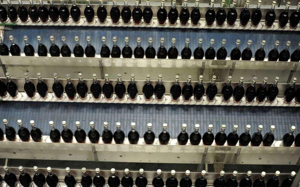 Photos Et Vidéo: Dans Les Coulisses De L'usine Des Cognacs Martell à Rouillac photo
