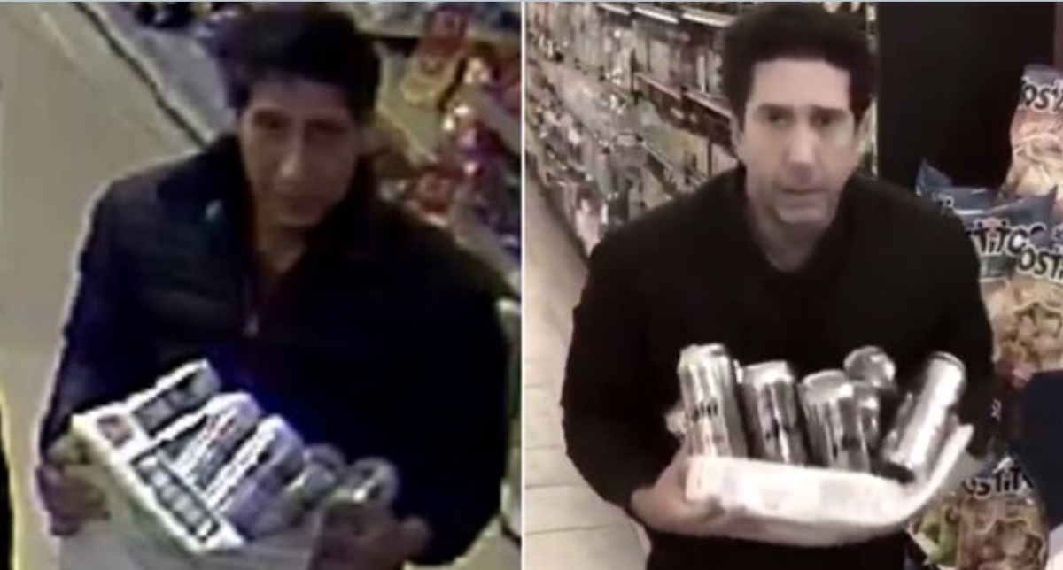 Friends Star David Schwimmer swears He Isn't The Viral Beer Thief And Made A Video To Prove It photo